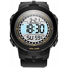SANDA Dziecięce Sportowy Wojskowy Inteligentny zegarek Modny Zegarek na nadgarstek Cyfrowe Kwarc japońskiLED Chronograf Wodoszczelny Dwie