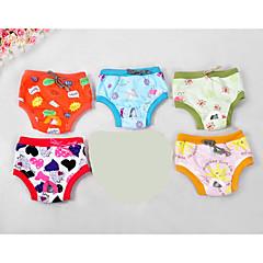 Perros Pantalones Multicolor Ropa para Perro Verano Primavera/Otoño Caricaturas Adorable Casual/Diario