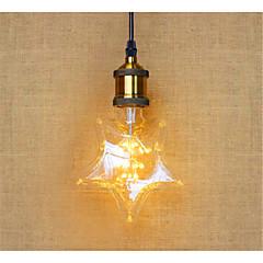 2W E26/E27 Żarówki LED kulki B 20 Dip LED 1120 lm Ciepła biel Dekoracyjna V 1 sztuka