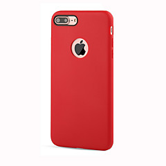 For Shockproof Case Full Body Case Solid Color Soft Striae TPU for AppleiPhone 7 Plus / iPhone 7 / iPhone 6s /6 Plus / iPhone 5s