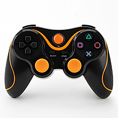 6 Axis Wireless Bluetooth Controller And Charger Cable For PS3 Console Game(Assorted Colors)