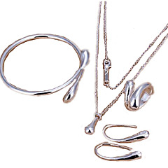 Jewelry Set 925 Sterling Silver Birthday / Engagement / Gift / Party / DailySilver /