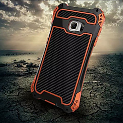 For Samsung Galaxy Case Shockproof Case Full Body Case Armor Metal Samsung S6 edge