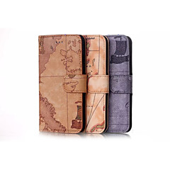 Wallet/Card Holder/with Stand/Flip/Pattern CasePU Leather Case for iPhone 7 7 Plus 6s 6 Plus SE 5s 5