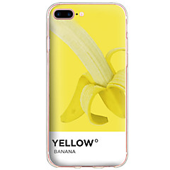 Per Fantasia/disegno Custodia Custodia posteriore Custodia Frutta Resistente PC per AppleiPhone 7 Plus / iPhone 7 / iPhone 6s Plus/6 Plus