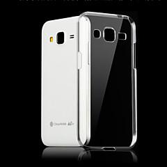Için Samsung Galaxy Kılıf Şeffaf Pouzdro Arka Kılıf Pouzdro Solid Renkli TPU için Samsung J7 (2016) / J7 / J5 (2016) / J5 / J1 (2016) / J1