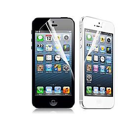 [2枚組] iPhone 5/5S用プレミアムハイ·デフィニクリアスクリーンプロテクター