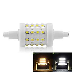 8W R7S LED-kolbepærer Nedfaldende retropasform 36 SMD 2835 700-800 lm Varm hvid Kold hvid Justérbar lysstyrke Vekselstrøm 85-265 V 1 stk.