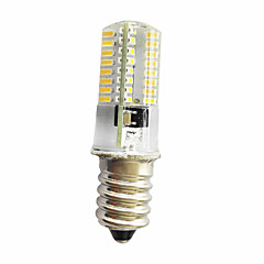 5W E11/E12/E14 Decoration Light T 64LED SMD 3014 380LM lm Warm White Cool White Dimmable AC220 V 1 pcs