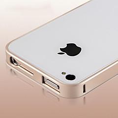nieuwe dunne luxe harde aluminium metalen frame bumper case voor de iPhone 4 / 4s (verschillende kleuren)