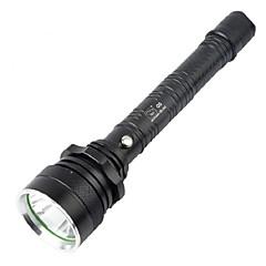 Φακοί LED ποδήλατο φώτα λάμψη LED 160-280Lm Lumens 4.0 Τρόπος Cree Q5 18650 Αδιάβροχη Εξαιρετικά ΕλαφρύΚατασκήνωση/Πεζοπορία/Εξερεύνηση