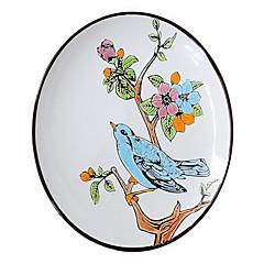 Hand-painted Ceramic Plate Creative Characteristic Fish Plate (Design Random)