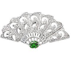 Γυναικεία Καρφίτσες Πετράδι Κλασσικά Ασημί Κοσμήματα Πάρτι