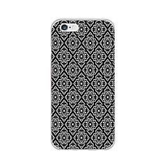 Mert iPhone 6 tok / iPhone 6 Plus tok Ultra-vékeny / Minta Case Hátlap Case Alb negru Puha TPU iPhone 6s Plus/6 Plus / iPhone 6s/6