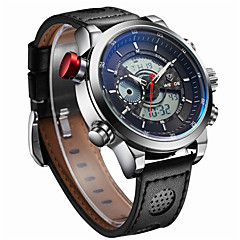 Men WEIDE  Sports Watches Top Quality Digital Quartz Multifunctional Waterproof Military Watch