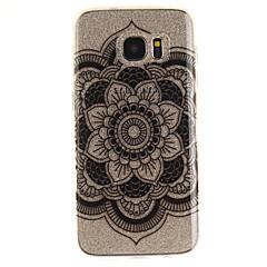 Varten IMD Läpinäkyvä Kuvio Etui Takakuori Etui Mandala Pehmeä TPU varten Samsung S7 edge S7 S3