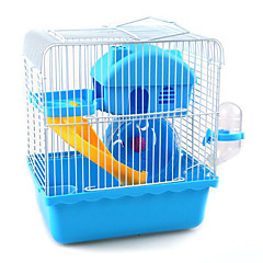 Rodents Cages Plastic Blue