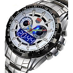 Men's Sport Watch Military Watch Dress Watch Fashion Watch Wrist watch Calendar Quartz Digital Alloy Band Vintage Charm Casual Luxury