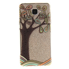 Για IMD Διαφανής Με σχέδια tok Πίσω Κάλυμμα tok Δέντρο Μαλακή TPU για Samsung A5(2016) A3(2016) A5 A3