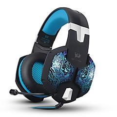 KOTION EACH G1000 Høretelefoner (Pandebånd)ForComputerWithMed Mikrofon Lydstyrke Kontrol Gaming Lyd-annulerende