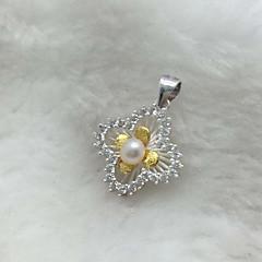 Vedhæng Enkelt design Yndig Sølv Dame