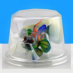 Akváriumdíszek Műhal Világítás Gyanta