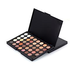 40 Paleta de Sombras Secos Paleta da sombra Pó Pressionado Normal Maquiagem para o Dia A Dia