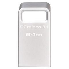 Kingston dtmc3 64gb USB 3.1 Flash Drive de metal ultra-compacto