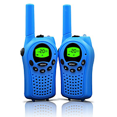 walkie talkie gyerekeknek 22 csatorna és tartós (akár 5km nyílt terepen) színes walkie talkie gyerekeknek (1 pár) t668