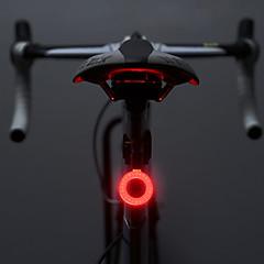 Eclairage de Vélo / bicyclette Lampe Arrière de Vélo LED Cyclisme Lumens Batterie Cyclisme Extérieur
