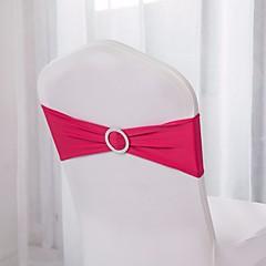 10db spandex szék sávok spandex szék szárny szakaszon lycra szék sávok csat esküvői dekoráció