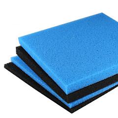 Aquarium Foam/Sponge Filter 45x45cm Universal Black Filtration Foam Fish Tank Biochemical Filter Pad