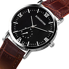 Men's Fashion Watch Wrist Watch Quartz Leather Band Tide Sport Business Cool Casual Unique Watch For Men Gift