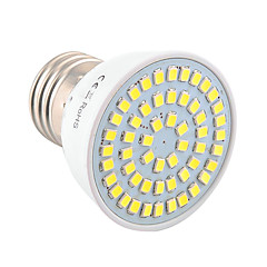 5W E26/E27 LED-kohdevalaisimet MR16 54 SMD 2835 400-500 lm Lämmin valkoinen Kylmä valkoinen Koristeltu V 1 kpl