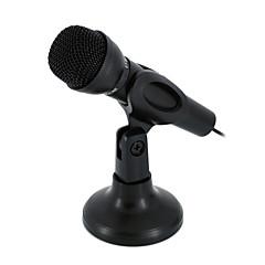 NO Kablolu Karaoke Mikrofonu 3.5mm Siyah