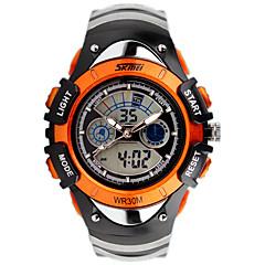 Herren Damen Unisex Sportuhr Modeuhr Armbanduhr Digitaluhr Quartz digital Kalender Silikon Band Bettelarmband Bequem Luxuriös Mehrfarbig