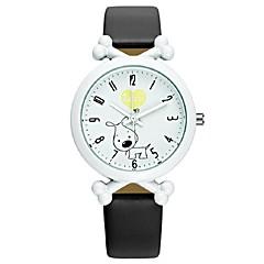 Dětské Módní hodinky Japonské Quartz PU Kapela Běžné nošení Černá Bílá Modrá Červená Růžová Fialová Černá Fialová Červená Modrá Růžová