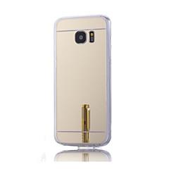 For Samsung Galaxy etui Belægning Spejl Etui Bagcover Etui Helfarve Hårdt Akryl for Samsung S7 plus S7 edge S7 S6 edge plus S6 edge S6 S5