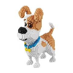 Leker som Gave Byggeklosser Modell- og byggeleke Hunder Filmkarakter Plast 14 år og oppover Krystall Leketøy
