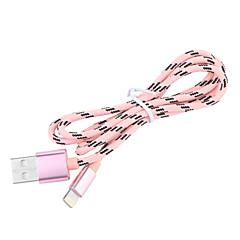 JDB® USB 3.0 Geflochten / Normal Kabel Für Apple 100 cm Nylon