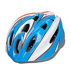 スポーツ 男女兼用 バイク ヘルメット 17 通気孔 サイクリング サイクリング マウンテンサイクリング ロードバイク レクリエーションサイクリング 登山 ハイキング PC EPS ブラック ブルー オレンジ