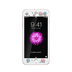 για Apple iPhone 6 / 6δ 4.7inch γυαλί διαφανές προστατευτικό μπροστά οθόνης με ανάγλυφο καρτούν λάμψη μοτίβο στο σκοτάδι παιδί