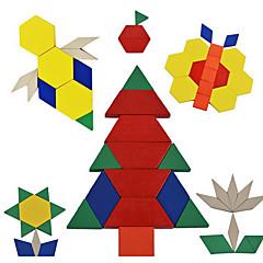 Legpuzzels Educatief speelgoed Bouw blokken DHZ-speelgoed 1 Hout Regenboog Ontspannende hobby's