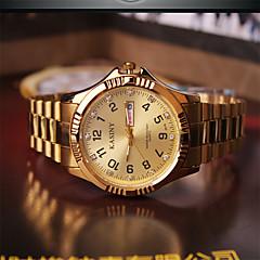 Modieus horloge Kwarts Legering Band Bedeltjes Goud