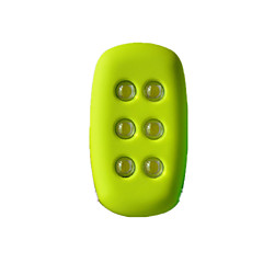 Sykkellykter Varselslys til jogging Joggearmbånd med LED Vandtæt Kompaktstørrelse Enkel å bære Verneutstyr til Sykling Multifunktion Løp-