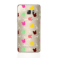 For Transparent Mønster Etui Bagcover Etui Dyr Blødt TPU for Samsung S7 edge S7 S6 edge plus S6 edge S6 S5 S4