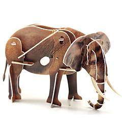 παζλ Παζλ 3D Δομικά στοιχεία DIY παιχνίδια Ελέφαντας 1 Πρωτοποριακά και αστεία παιχνίδια