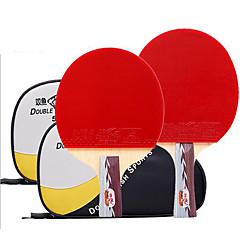 Ping Pang/Πινγκ πονγκ Ρακέτες Ping Pang Καοτσούκ Κοντή Λαβή Σπυράκια