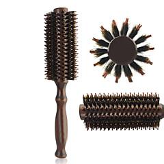 Børste og kam Kun til tørt hår Naturlig Tør