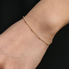 Kedje & Länk Armband Bohemstil film smycken Handgjord Legering Stjärnformad Guld Silver Smycken FörBröllop Party Födelsedag Förlovning